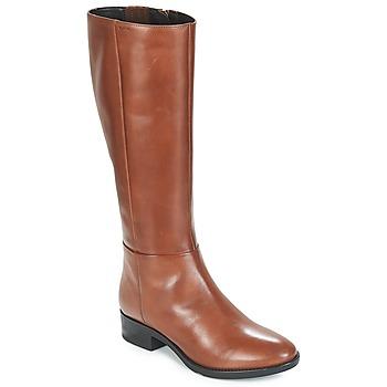 Παπούτσια Γυναίκα Μπότες για την πόλη Geox D FELICITY Brown