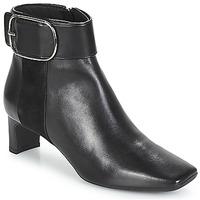 Παπούτσια Γυναίκα Μποτίνια Geox D VIVYANNE MID Black