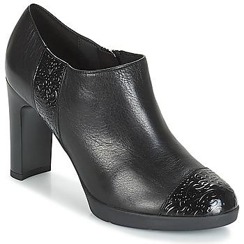 Παπούτσια Γυναίκα Χαμηλές Μπότες Geox D ANNYA HIGH Black