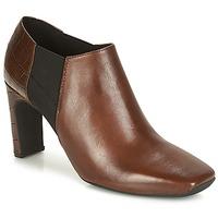 Παπούτσια Γυναίκα Χαμηλές Μπότες Geox D VIVYANNE HIGH Brown