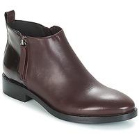 Παπούτσια Γυναίκα Μπότες Geox DONNA BROGUE Bordeaux