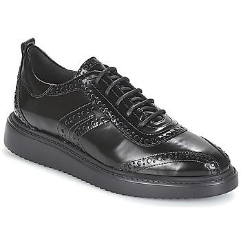 Παπούτσια Γυναίκα Derby Geox D THYMAR Black