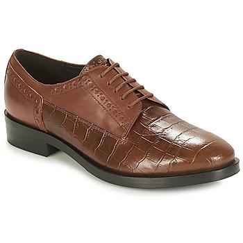 Παπούτσια Γυναίκα Derby Geox DONNA BROGUE Brown