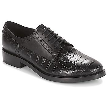 Παπούτσια Γυναίκα Derby Geox DONNA BROGUE Black