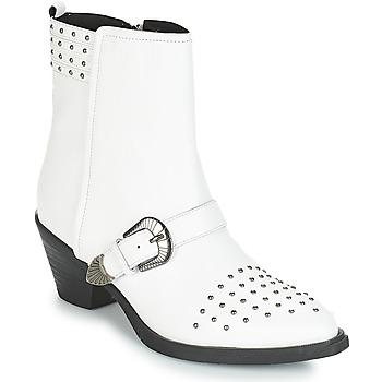 Παπούτσια Γυναίκα Μποτίνια Geox D LOVAI Άσπρο
