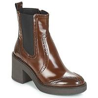 Παπούτσια Γυναίκα Μποτίνια Geox D ADRYA MID Brown