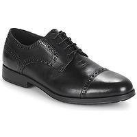 Παπούτσια Άνδρας Derby Geox U HILSTONE 2FIT Black