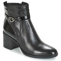 Παπούτσια Γυναίκα Μποτίνια Geox D GLYNNA Black
