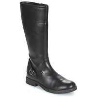 Παπούτσια Κορίτσι Μπότες για την πόλη Geox JR SOFIA Black