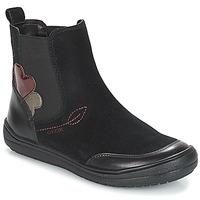 Παπούτσια Κορίτσι Μπότες Geox J HADRIEL GIRL Black