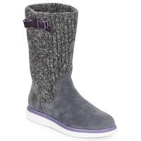 Παπούτσια Κορίτσι Μπότες για την πόλη Geox J THYMAR GIRL Grey