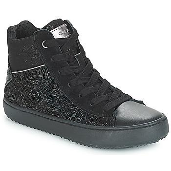 Παπούτσια Κορίτσι Ψηλά Sneakers Geox J KALISPERA GIRL Black