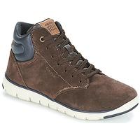Παπούτσια Αγόρι Ψηλά Sneakers Geox J XUNDAY BOY Brown / Marine