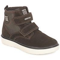 Παπούτσια Αγόρι Ψηλά Sneakers Geox J RIDDOCK BOY Brown / Marine