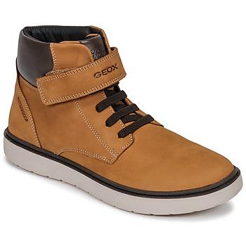 Παπούτσια Αγόρι Ψηλά Sneakers Geox J RIDDOCK BOY WPF Yellow