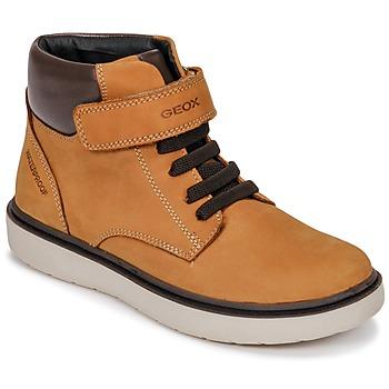 Παπούτσια Αγόρι Ψηλά Sneakers Geox J RIDDOCK BOY WPF Brown