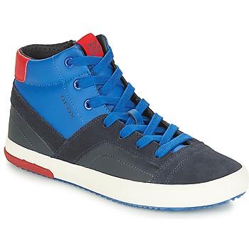 Παπούτσια Αγόρι Ψηλά Sneakers Geox J ALONISSO BOY Marine / Red