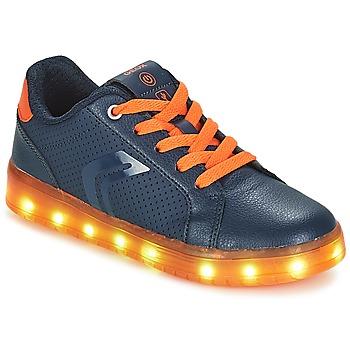 Παπούτσια Αγόρι Χαμηλά Sneakers Geox J KOMMODOR BOY Marine / Orange