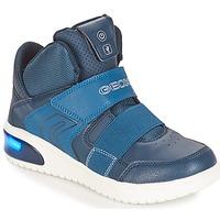 Παπούτσια Αγόρι Χαμηλά Sneakers Geox J XLED BOY Marine