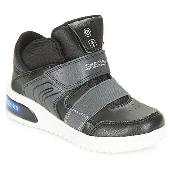 Παπούτσια Αγόρι Ψηλά Sneakers Geox J XLED BOY Black