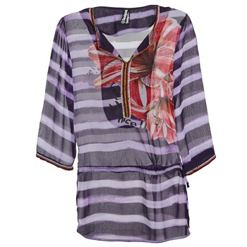 Υφασμάτινα Γυναίκα Μπλούζες Desigual ALONDRA Multicolore