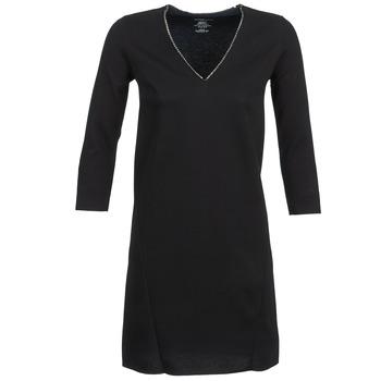 Υφασμάτινα Γυναίκα Κοντά Φορέματα Majestic BRUNEHILDE Black