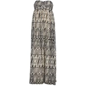 Υφασμάτινα Γυναίκα Μακριά Φορέματα Le Temps des Cerises GOTA Grey / Άσπρο