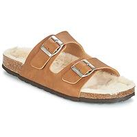 Παπούτσια Γυναίκα Τσόκαρα Casual Attitude JODRI Camel