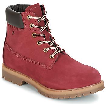 Παπούτσια Γυναίκα Μπότες Casual Attitude JORD Red