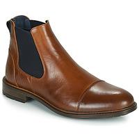 Παπούτσια Άνδρας Μπότες Casual Attitude JANDY Cognac / Marine