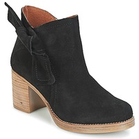 Παπούτσια Γυναίκα Μποτίνια Casual Attitude HIRCHE Black