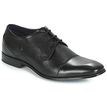 Παπούτσια Άνδρας Derby Bugatti ROMEI Black