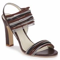 Παπούτσια Γυναίκα Σανδάλια / Πέδιλα Jil Sander JS16121 Brown