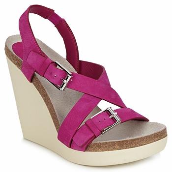 Παπούτσια Γυναίκα Σανδάλια / Πέδιλα Jil Sander JS16295 Ροζ