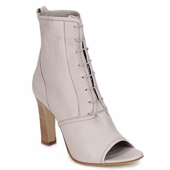 Παπούτσια Γυναίκα Μποτίνια Jil Sander JS16328 Beige