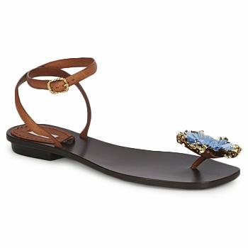 Παπούτσια Γυναίκα Σανδάλια / Πέδιλα Marc Jacobs MJ16131 Brown / μπλέ