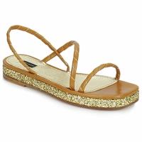 Παπούτσια Γυναίκα Σανδάλια / Πέδιλα Marc Jacobs MJ16405 Brown / Χρυσο