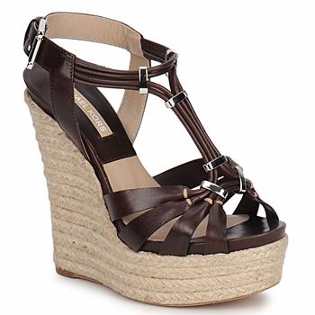Παπούτσια Γυναίκα Σανδάλια / Πέδιλα Michael Kors IDALIA Brown