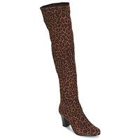 Παπούτσια Γυναίκα Μπότες για την πόλη André PRISCA 3 Leopard