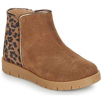 Παπούτσια Κορίτσι Μπότες André SAVANNAH Camel