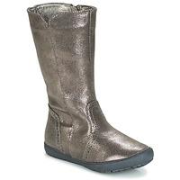 Παπούτσια Κορίτσι Μπότες για την πόλη André SCINTILLANTE Argenté