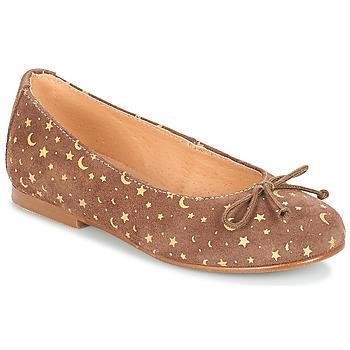 Παπούτσια Κορίτσι Μπαλαρίνες André MOON Taupe