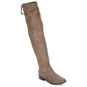 Παπούτσια Γυναίκα Ψηλές μπότες André MARGOT Taupe