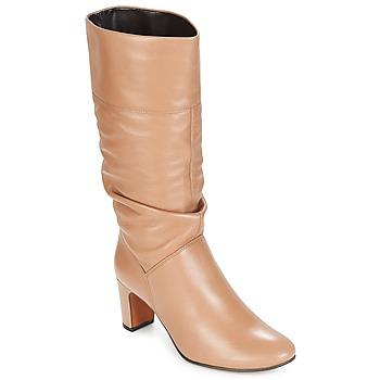 Παπούτσια Γυναίκα Μπότες για την πόλη André SARA Beige