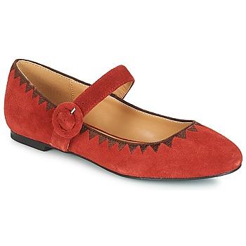 Παπούτσια Γυναίκα Μπαλαρίνες André ALBOROZA Red
