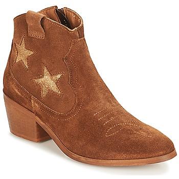Παπούτσια Γυναίκα Μπότες André CELESTE Camel