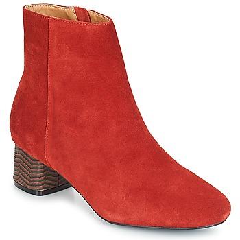 Παπούτσια Γυναίκα Μποτίνια André EUFORIA Red