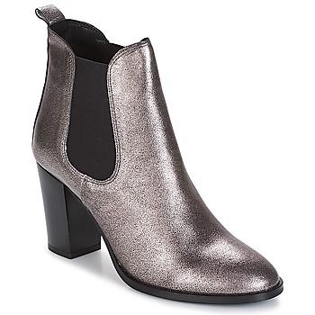 Παπούτσια Γυναίκα Μποτίνια André CLAFOUTI Argenté