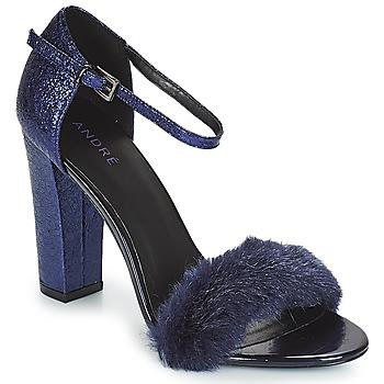Παπούτσια Γυναίκα Σανδάλια / Πέδιλα André WANDA Marine