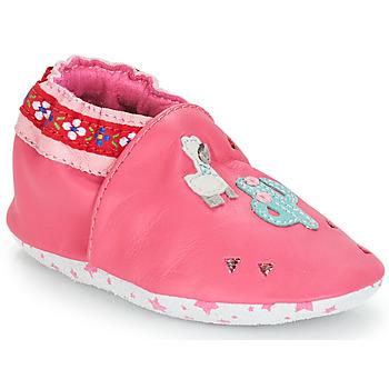 Παπούτσια Κορίτσι Σοσονάκια μωρού André PERUVIENNE Ροζ